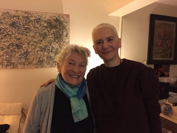 Éliane Radigue and me, November 2015